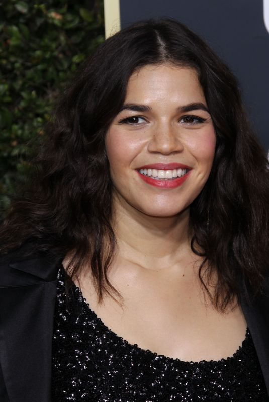 AMERICA FERRERA at 75th Annual Golden Globe Awards in Beverly Hills 01/07/2018