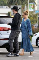 AMY ADAMS Leaves a Veterinarian Office in West Hollywood 01/02/2018