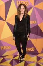AMY BRENNEMAN at HBO's Golden Globe Awards After-party in Los Angeles 01/07/2018