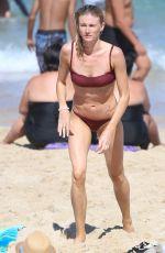 AMY PEJKOVIC in Bikini at Bronte Beach in Sydney 01/05/2018
