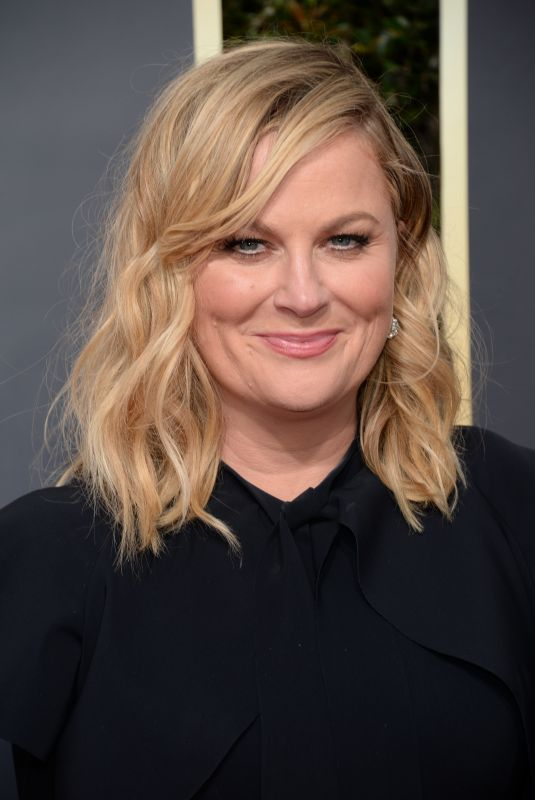 AMY POEHLER at 75th Annual Golden Globe Awards in Beverly Hills 01/07/2018