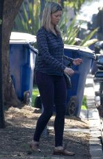 AMY SMART Out and About in West Hollywood 01/04/2018