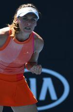 ANA BOGDAN at Australian Open Tennis Tournament in Melbourne 01/18/2018