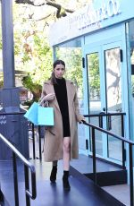 ANA DE ARMAS Shopping at Tiffany & Co. Pop-up Store at The Grove 01/24/2018