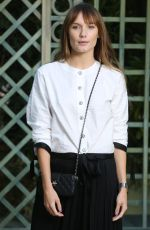 ANA GIRARDOT at Chanel Show at Spring/Summer 2018 Haute Couture Fashion Week in Paris 01/23/2018