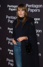 ANA GIRARDOT at The Post Premiere in Paris 01/13/2018