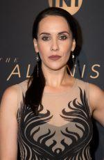 ANASTASIA NICOLE at The Alienist Premiere in Los Angeles 01/11/2018