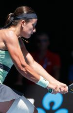 ANASTASIJA SEVASTOVA at Australian Open Tennis Tournament in Melbourne 01/18/2018