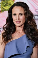 ANDIE MACDOWELL at Hhallmark Channel All-star Party in Los Angeles 01/13/2018