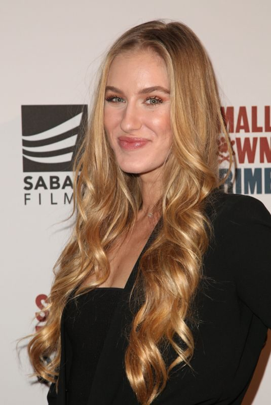 ANDREA BUCKO at Small Town Crime Special Screening in Los Angeles 01/09/2018