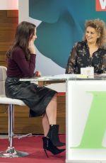 ANDREA MCLEAN at Loose Women TV Show in London 01/23/2018