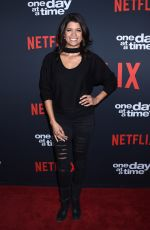 ANDREA NAVEDO at One Day at a Time Season 2 Premiere in Los Angeles 01/24/2018