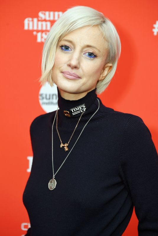 ANDREA RISEBOROUGH at The Tale Premiere at 2018 Sundance Film Festival in Park City 01/20/2018