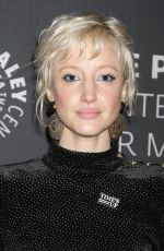 ANDREA RISEBOROUGH at Waco Premiere and Panel in New York 01/24/2018