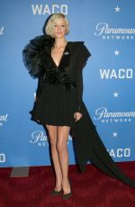 ANDREA RISEBOROUGH at Waco World Premiere in New York 01/22/2018