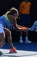 ANETT KONTAVEIT at Australian Open Tennis Tournament in Melbourne 01/17/2018