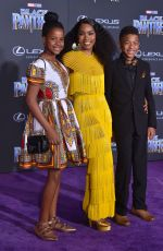 ANGELA BASSETT at Black Panther Premiere in Hollywood 01/29/2018