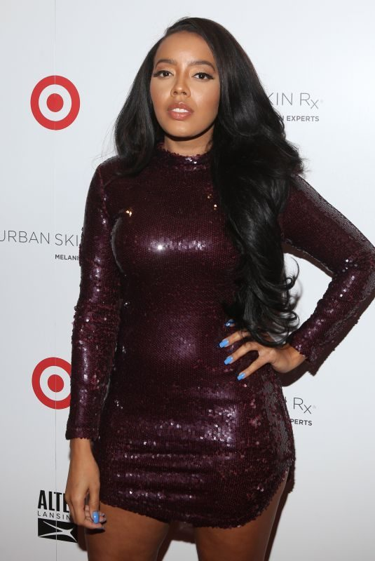 ANGELA SIMMONS at Urban Skin RX Launch at Target Stores in New York 01/18/2018
