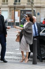 ANGELINA JOLIE Arrives at Guerlain Perfumes Shop on Champs-elysees in Paris 01/30/2018