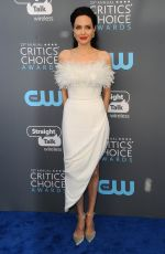 ANGELINA JOLIE at 2018 Critics