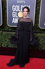 ANGELINA JOLIE at 75th Annual Golden Globe Awards in Beverly Hills 01/07/2018