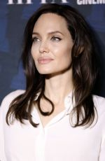 ANGELINA JOLIE at Golden Globe Foreign Language Nominees Series 2018 Symposium in Los Angeles 01/06/2018