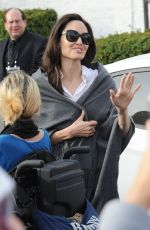 ANGELINA JOLIE Out and About in Los Angeles 01/06/2018