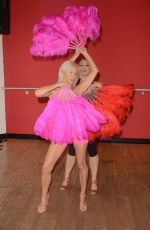 ANGELIQUE FRENCHY MORGAN and SUZIE MALONE Trains at Ida Studios in Hollywood 01/08/2018