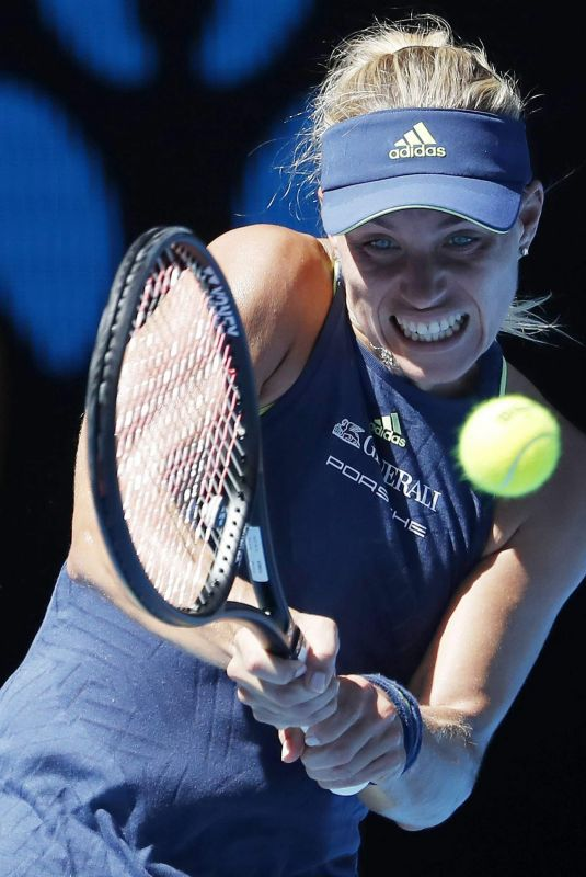 ANGELIQUE KERBER at Australian Open Tennis Tournament in Melbourne 01/18/2018