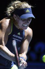 ANGELIQUE KERBER at Australian Open Tennis Tournament in Melbourne 01/22/2018