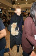 ANNA BARYSHNIKOV at Salt Lake City International Airport in Park City 01/18/2018