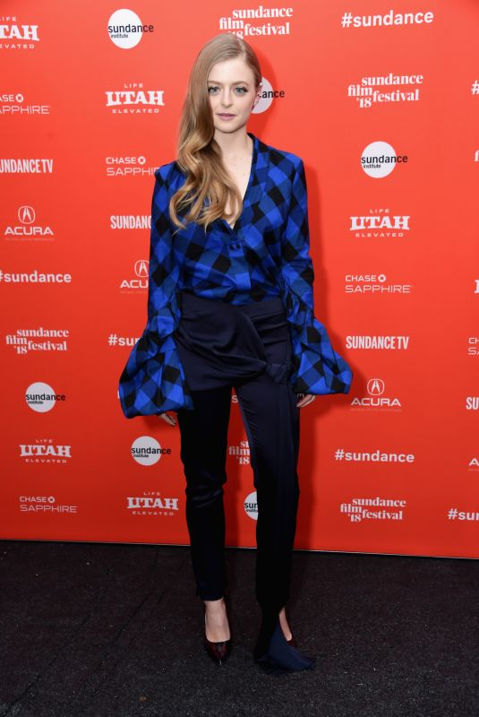 ANNA BARYSHNIKOV at Un Traductor Premiere at 2018 Sundance Film Festival in Park City 01/19/2018