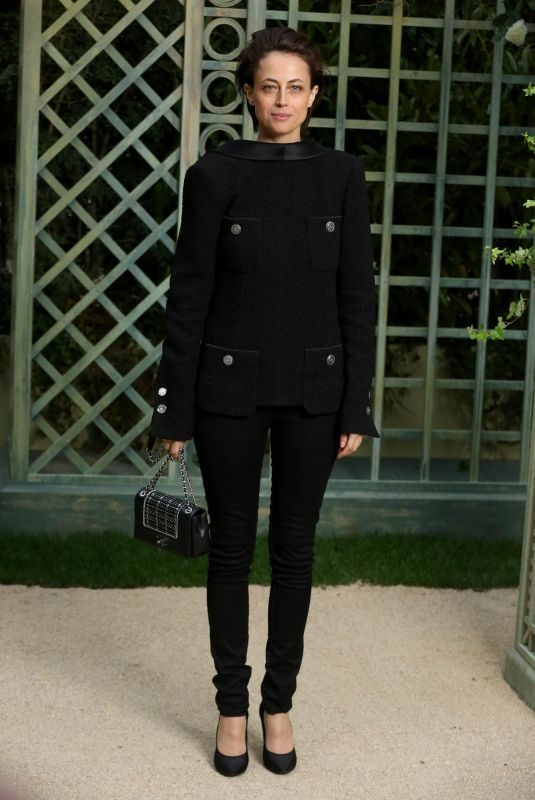 ANNA BEREST at Chanel Show at Spring/Summer 2018 Haute Couture Fashion Week in Paris 01/23/2018