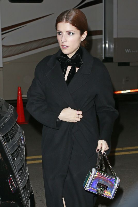ANNA KENDRICK Arrives at Elton John Concert at Madison Square Garden in New York 01/30/2018