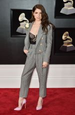 ANNA KENDRICK at Grammy 2018 Awards in New York 01/28/2018