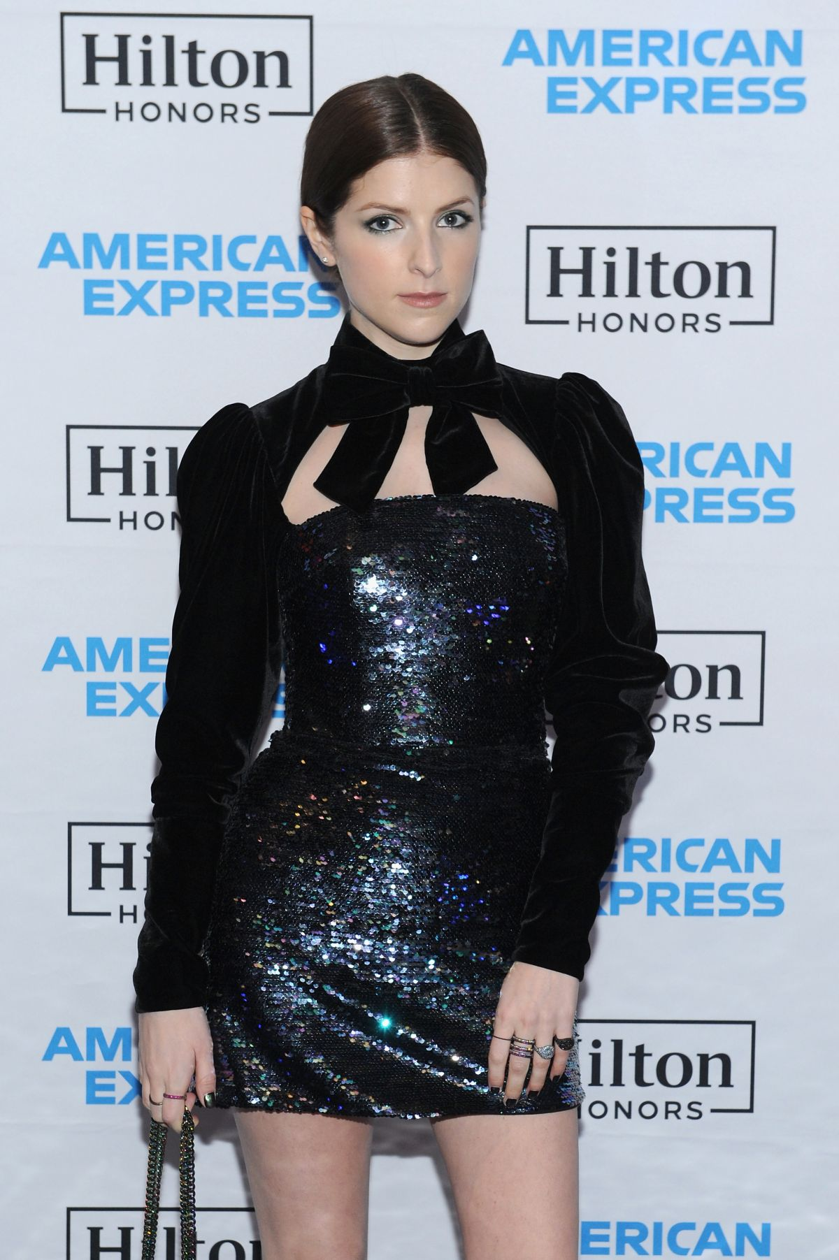Anna Kendrick At Hilton And American Express Celebrate Launch Of Co Brand Credit Card Portfolio In New York