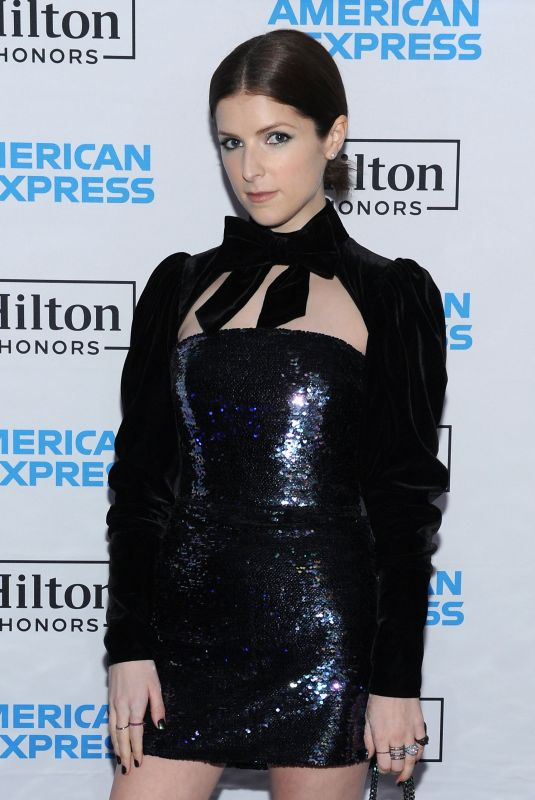 ANNA KENDRICK at Hilton and American Express Celebrate Launch of Co-brand Credit Card Portfolio in New York 01/30/2018