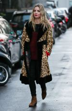 ANNABELLE WALLIS Out and About in Paris 01/25/2018