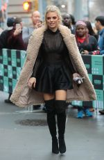 ANNALYNNE MCCORD Arrives at Build Series in New York 01/23/2018