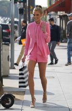 ANNALYNNE MCCORD Out Shopping in Los Angeles 01/18/2018