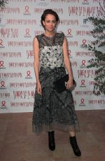 ANNE BEREST at Sidaction Gala Dinner in Paris 01/25/2018