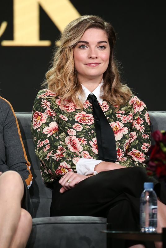 ANNE MURPHY at Schitt's Creek TV Show Panel at TCA Winter Press Tour in Los Angeles 01/14/2018