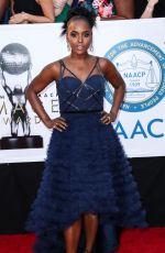 ANTOINETTE ROBINSON at 49th Naacp Image Awards in Pasadena 01/14/2018