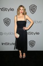 ARI GRAYNOR at Instyle and Warner Bros Golden Globes After-party in Los Angeles 01/07/2018