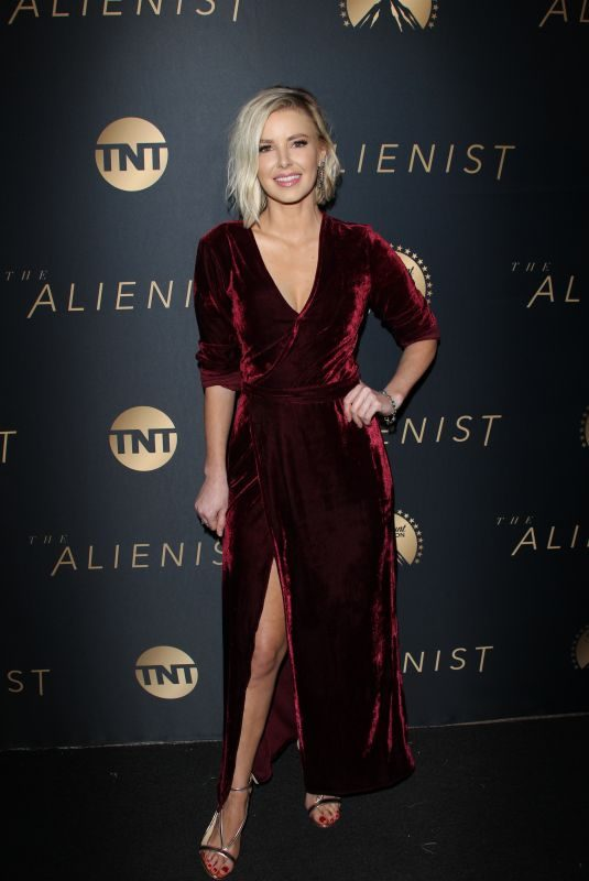 ARIANA MADIX at The Alienist Premiere in Los Angeles 01/11/2018