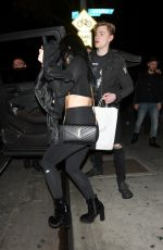 ARIEL WINTER and Levi Meaden Night Out in Los Angeles 01/26/2018