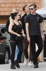 ARIEL WINTER and Levi Meaden Out in Los Angeles 01/30/2018