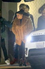 ARIEL WINTER Out for Early Birthday Dinner in West Hollywood 01/19/2018