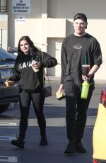 ARIEL WINTER Out for Lunch in Studio City 01/12/2018