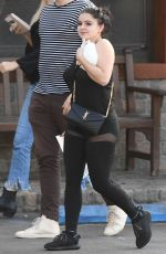 ARIEL WINTER with Her Pet Bunny Leaves a Veterinarian in Los Angeles 01/30/2018